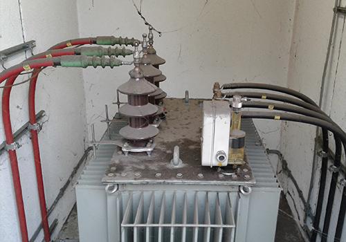 Transformator Reinigung - Vorher