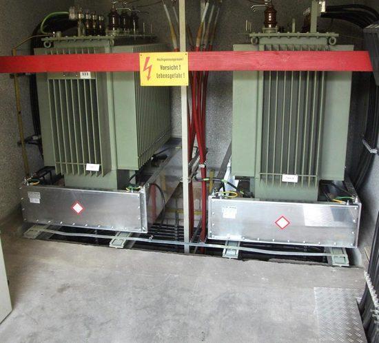 Einbau von 2 Aluminiumwannen