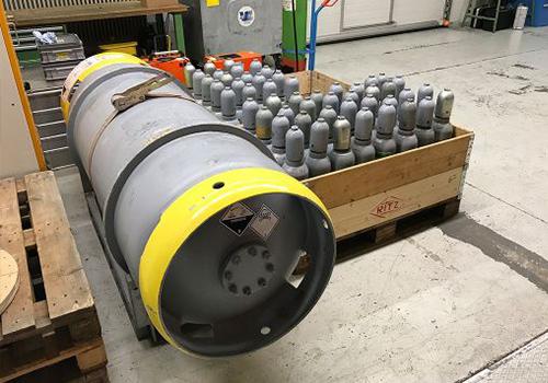 Absaugen einer 110 KV Schaltanlage